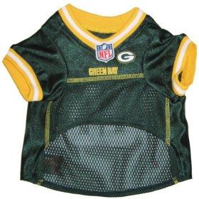 Pets First NFL Green Bay Packers Jersey, Medium