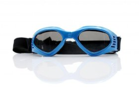 Pet Leso Doggles Goggles Stylish Doggie Puppy Sunglasses Windproof – Blue