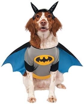 Rubies Costume DC Heroes and Villains Collection Pet Costume, X-Large, Batman