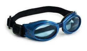 Doggles – Originalz Large Metallic Blue Frame / Blue Lens