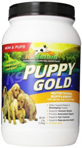 Animal Naturals K9 'Puppy Gold' Growing Puppy Nutrition Supplement, 4-Pound