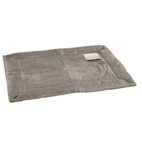 K&H Manufacturing Self-Warming Crate Pad Gray 14-Inch by 22-Inch