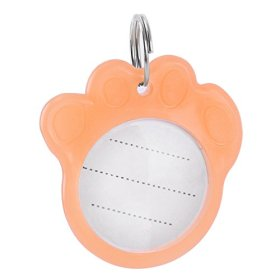 Pet Supplies Paw Shaped Dog Puppy Cat Anti-Lost Safe Luminous ID Name Tag Tags