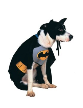 Rubies Costume DC Heroes and Villains Collection Pet Costume, Classic Batman, Large