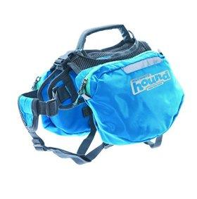 Outward Hound 22011 Quick Release Backpack Saddlebag Style Dog Backpack, Large, Blue