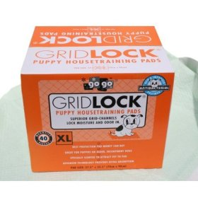 40 XL pack GRIDLOCK 27.5″ x 35.5″ Puppy Dog Animal Training Wee Wee Pads