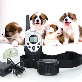 1000 Yard Remote Control Pet Dog Trainer Training Beep Vibration Electric Shock Collar For Dog Puppy