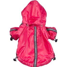 Pet Life Reflecta-Sport Rain Jacket/Windbreaker in Hot Pink – Small