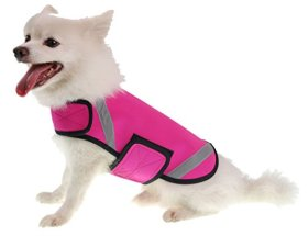 Extreme Neoprene Multi-Purpose Protective Shell Dog Coat, Pink, MD