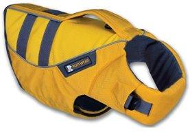 RUFFWEAR ★ K-9 FLOAT COAT ★ REFELCTIVE SAFETY DOG LIFE JACKET ★ ALL SIZES & COLORS (Large, Yellow)