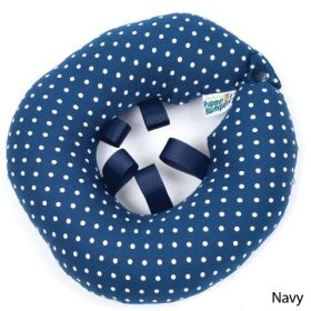 Puppy Bumper – Keep Your Dog on the Safe Side of the Fence – Navy Dot – up to 10″