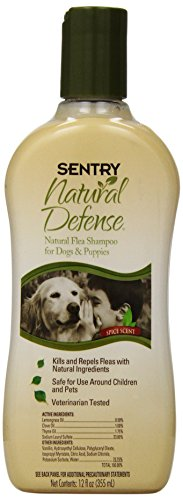 Sentry Natural Defense Dog and Puppy Shampoo, 12 Fluid Ounce
