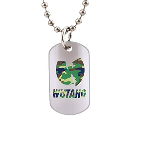 Wu Tang Logo Fashion Image Custom Unique Personalized Dog Tag Necklaces, dogtag size About 1.3X 2.2 inches Ideal Gift