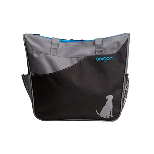 Bergan Doggie Duffle Bag, Black & Gray