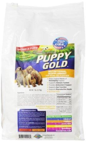 Animal Naturals K9 'Puppy Gold' Growing Puppy Nutrition Supplement, 7-Pound