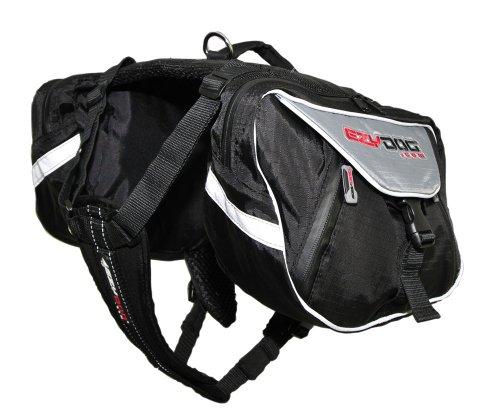 EzyDog Summit Dog Backpack, Extra Large, Black/Charcoal