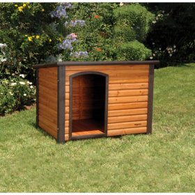 Precision Pet Extreme Log Cabin Small 33.3 in. x 24.6 in. x 22.2 in.