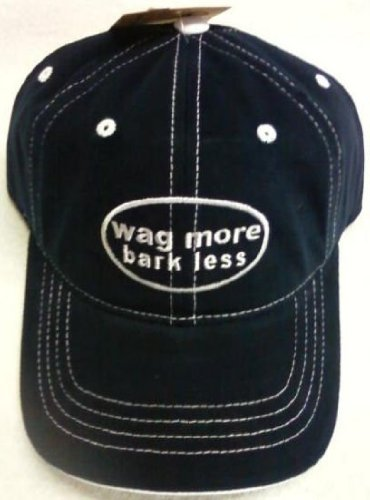 Wag More Bark Less Cap & Magnet Bundle (Blue)