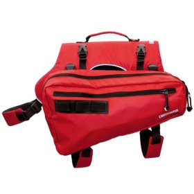 Canine Equipment Ultimate Trail Dog Pack, Small, Red