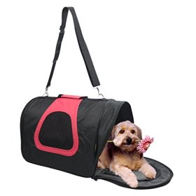 Jespet Comfort 18 Inch Soft Sided Pet Travel Carrier Pet Portable Bag Home for Dogs Cats Puppies