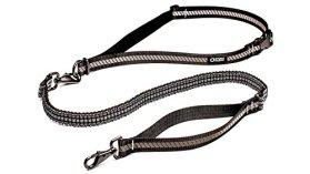 Stunt Puppy Go Dog Glo Runner Hands-Free Leash, Black