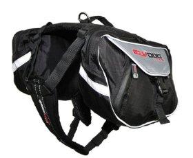 EzyDog Summit Dog Backpack, Medium, Black/Charcoal