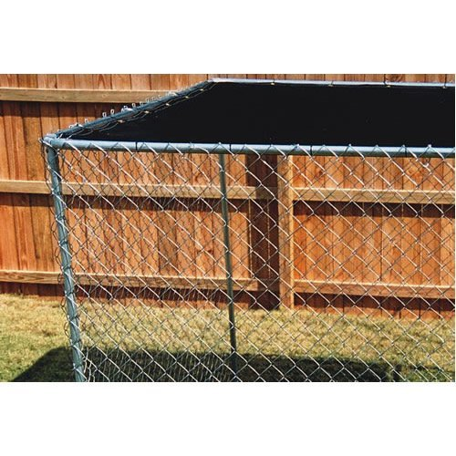 Dog Kennel Cover Shade Green 5'x10′
