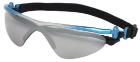 Doggles K9 Optix Blue Rubber Gradient Frame with Smoke Lens Sunglasses, XX-Small