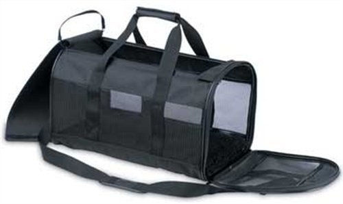 Petmate Soft-Sided Kennel Cab Pet Carrier, Medium, Black