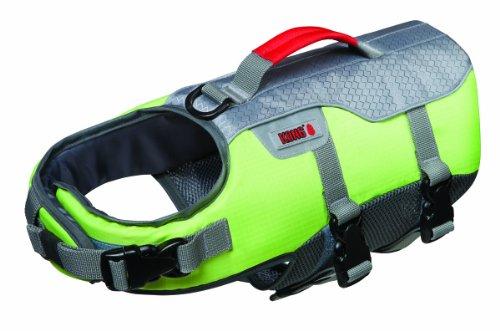 Future Sports Products International KONG SPORT Aqua Float Flotation Vest for Dogs, Medium, Green