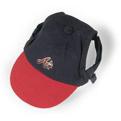 Sporty K9 MLB Atlanta Braves Dog Cap, Medium  – New Design