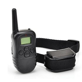 DogTrainer-DR1 330 yd Remote Dog Training E-Collar, 7.67 by 1.88 by 5.9″