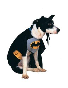 Rubies Costume DC Heroes and Villains Collection Pet Costume, Classic Batman, Medium