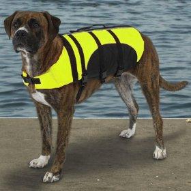 Guardian Gear Aquatic Dog Preserver, X-Large, 24-Inch, Yellow