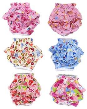 SET – 3pcs Lillypet® Dog Diaper Skirt For SMALL Dogs Female Girl Sanitary Pant Dress Color Random Size S
