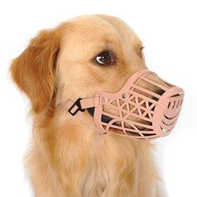 Alfie Pet by Petoga Couture – Gabby Adjustable Quick Fit Plastic Muzzle – Color: Beige, Size: XXS