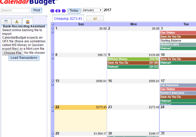 How to Use Calendar Budget to Get Out of Debt