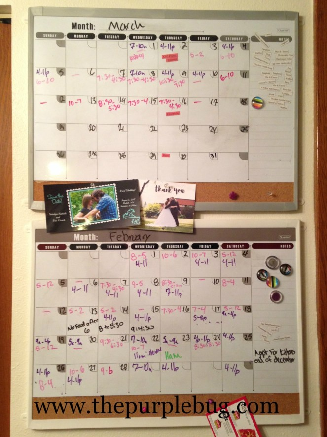 8 Tips to Improve Your Simple Wall Calendar Including Adding a Second Calendar