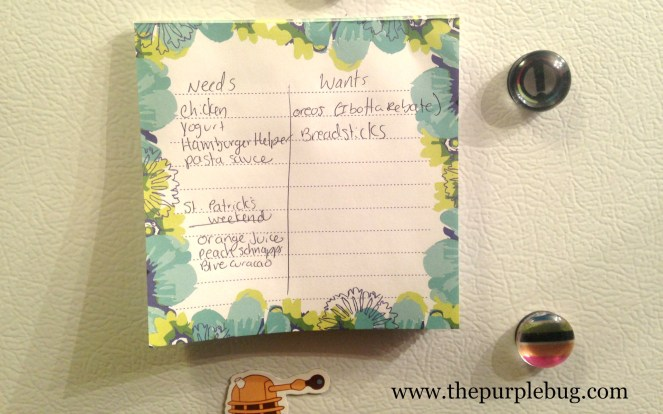How to Write a Wants vs Needs Shopping List