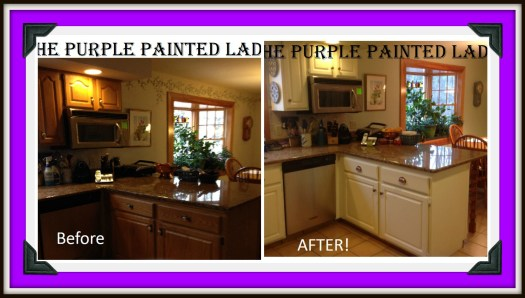 Picmonkey Collage The Purple Painted Lady Caninets Susan Old White