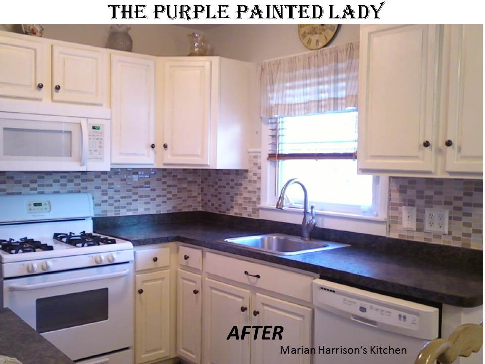 Do Your Kitchen Cabinets Look Tired The Purple Painted Lady