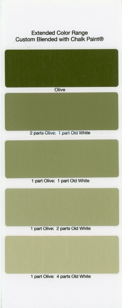 Chalk Paint Sample Board Colors All In A Row The Purple Painted Lady