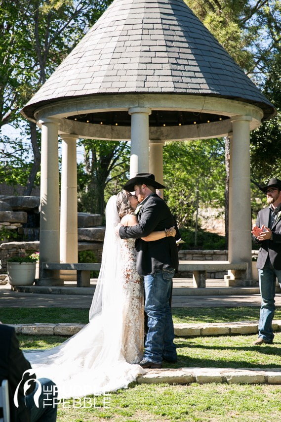 Fort Worth Botanic Garden Ceremony