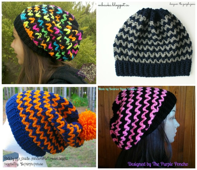 Ric Rac Slouchy collage