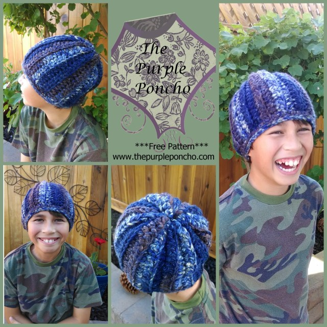 Easy HDC Beanie collage 122013