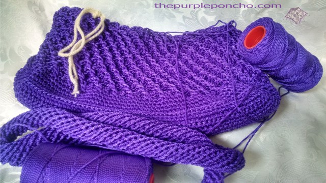 Purple purse - not quite ready!