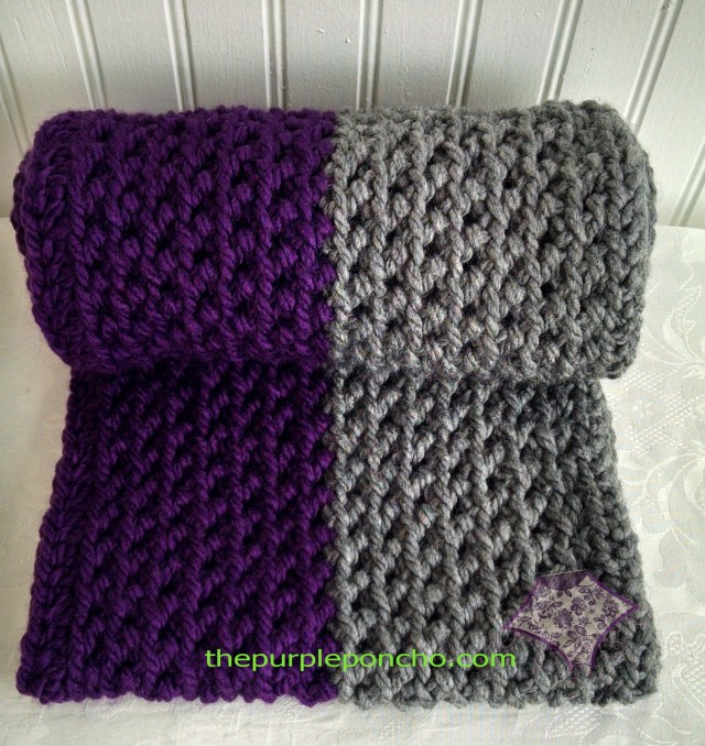 Herringbone infinity scarf a free crochet pattern the purple poncho color block herringbone infinity scarf by the purple poncho a free crochet pattern craftsy dt1010fo