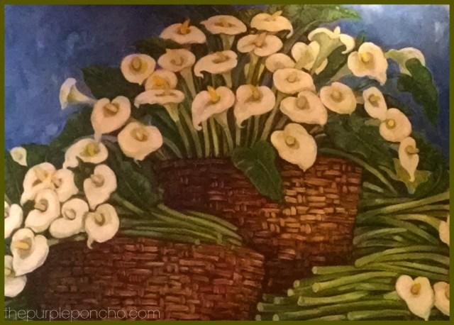 Calla Lillies Mural