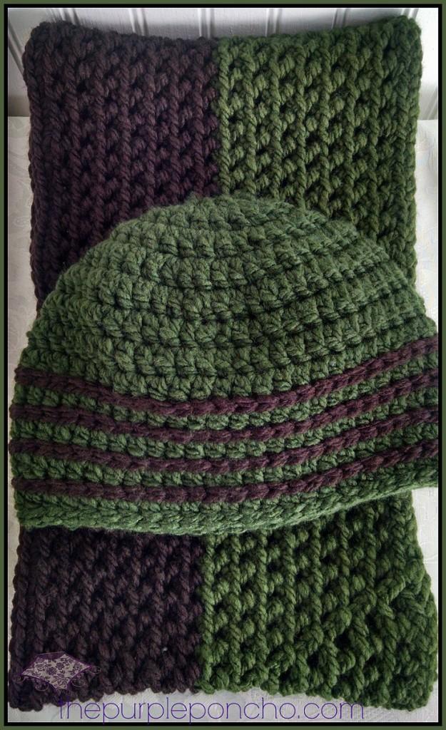 Homespun Yarn Knitted Scarf Patterns