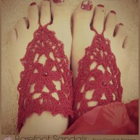 Barefoot Sandals A Free Crochet Pattern